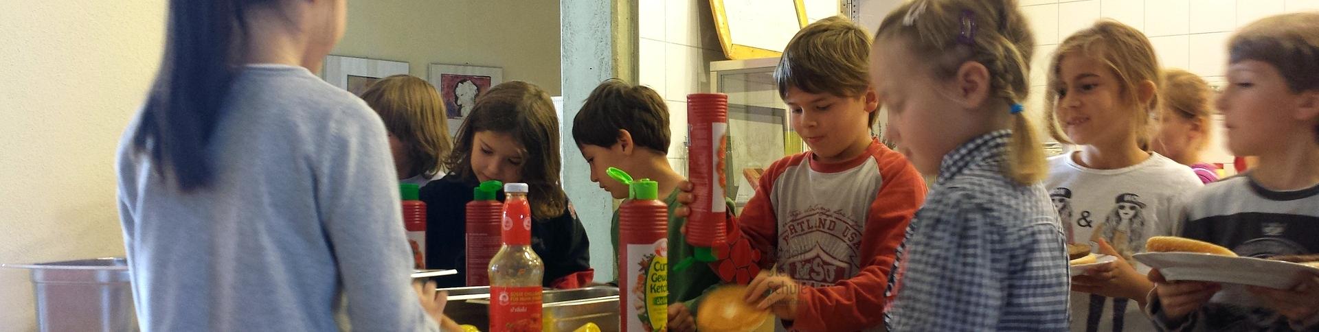 Schulküche Waldorfschule Dietzenbach Ganztagsbetreuung